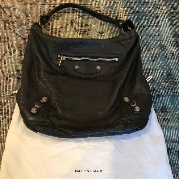 Black Balenciaga Hobo Bag   Poshmark